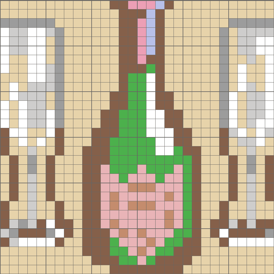 Solution for color CrossMe Level 5.54 - Wine